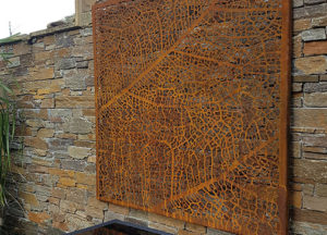 Leaf Vein Wall Art by Ironbark Metal Design