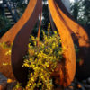 Teardrop Sculpture by Ironbark Metal Design