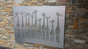 Giraffe Tower by Ironbark Metal Design