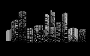 Cityscape Tall Towers by Ironbark Metal Design