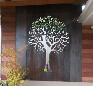 Autumn Tree by Ironbark Metal Design