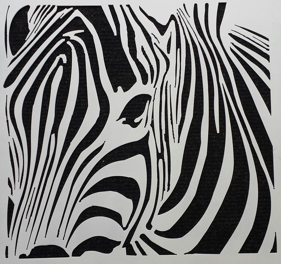 Zebra Abstract by Ironbark Metal Design