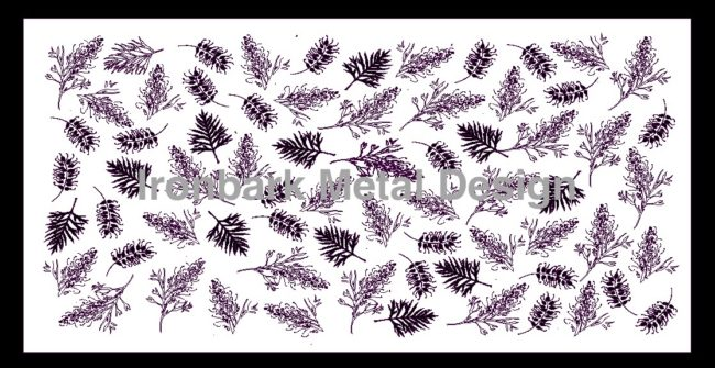 Grevillea & Leaf by Ironbark Metal Design
