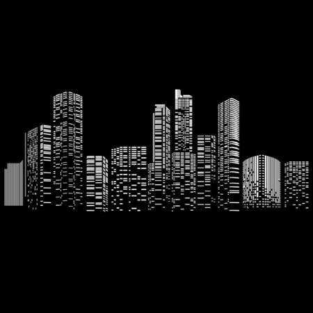 Cityscape Tall Towers