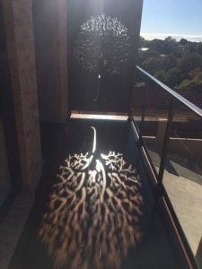 Autumn Tree 3D Privacy Screen by Ironbark Metal Design