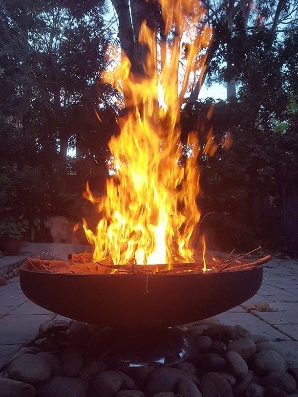 Diablo Firebowl by Ironbark Metal Design