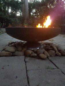 Diablo Firebowl by Ironbark Metal Design