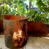 Medium Round Fire Pit - Banksia