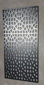 Moroccan Privacy Screen by Ironbark Metal Design