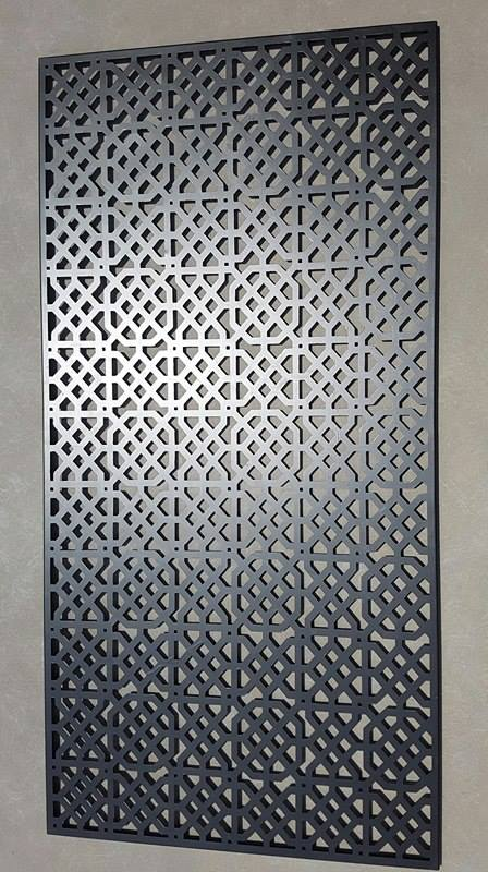 Moorish Privacy Screen by Ironbark Metal Design