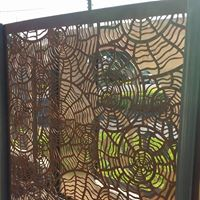 Nautilus Privacy Screens by Ironbark Metal Design