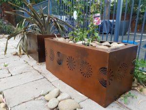 Pot Plant Covers by Ironbark Metal Design