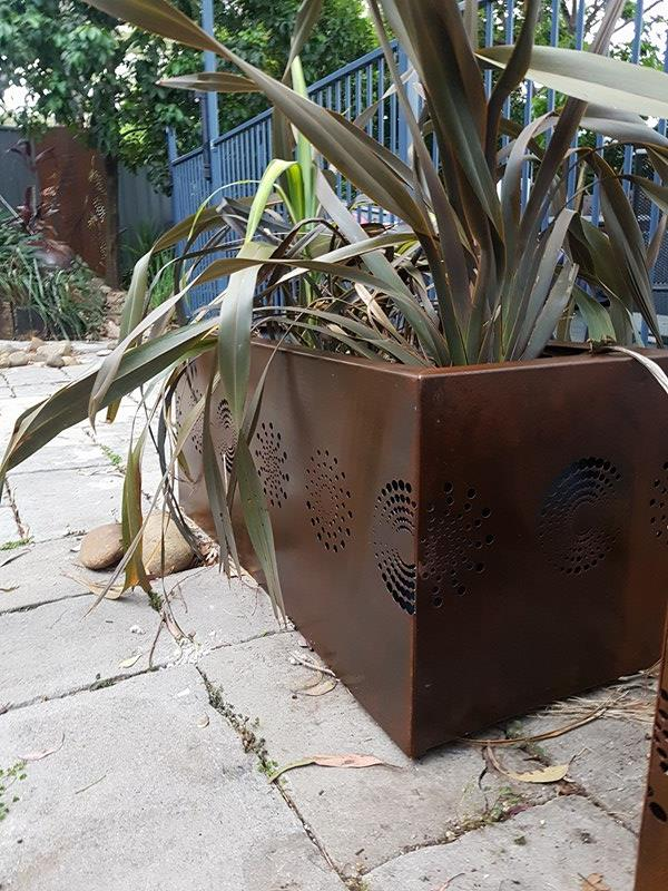 Pot Plant Covers by Ironbark Metal Design