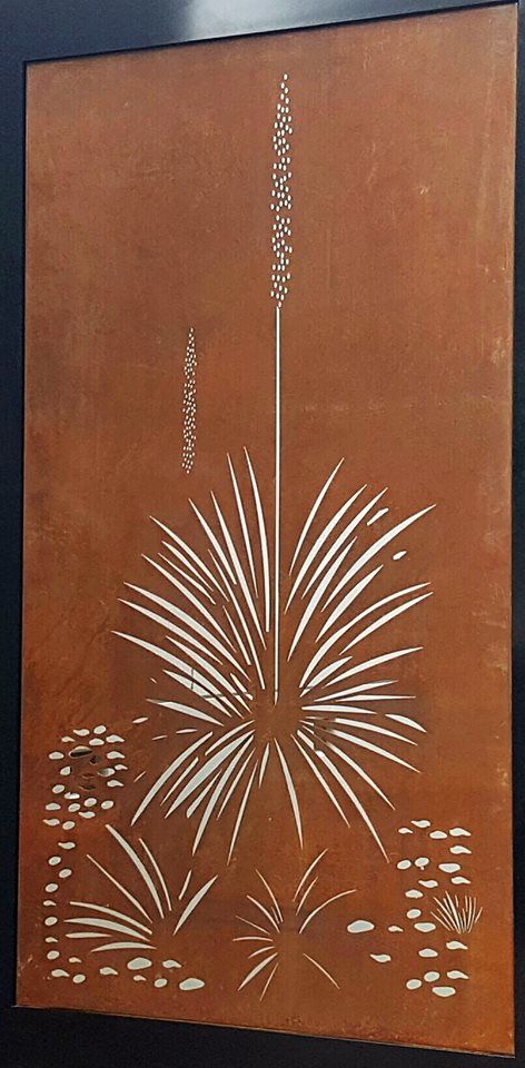 Xanthorrhoea Ironbark Metal Design
