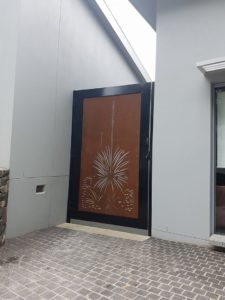 Xanthorrhoea Gate by Ironbark Metal Design