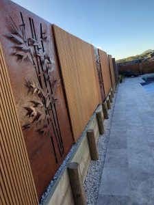 Bamboo Decorative Screen with Bamboo Wall Cladding