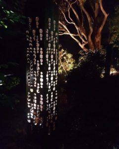 Champagne Light Tower by Ironbark Metal Design