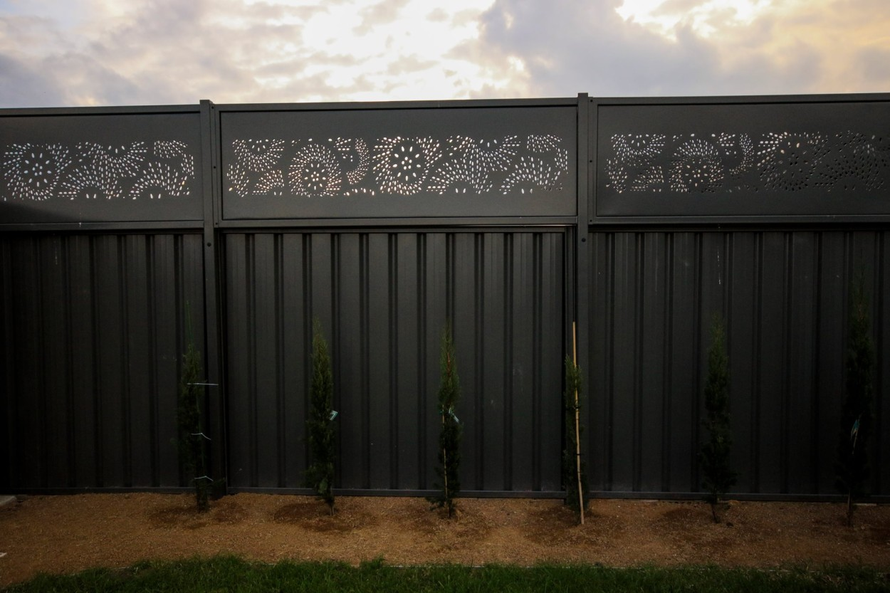 Fence Panels Gates Amp Security Doors Iron Bark Metal Design