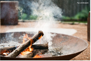 Steel Fire Pit on Houzz - Heathcote Project