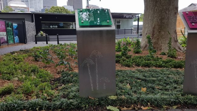 Stainless Steel Signage - Sydney Royal Botanic Gardens by Ironbark Metal Design