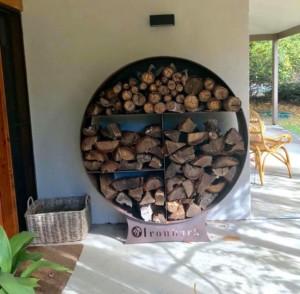 Ironbark Wood Stacker by Ironbark MEtal Design