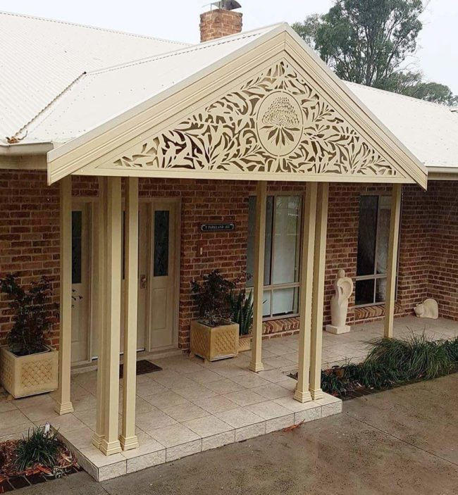 Decorative Infill panels by Ironbark Metal Design