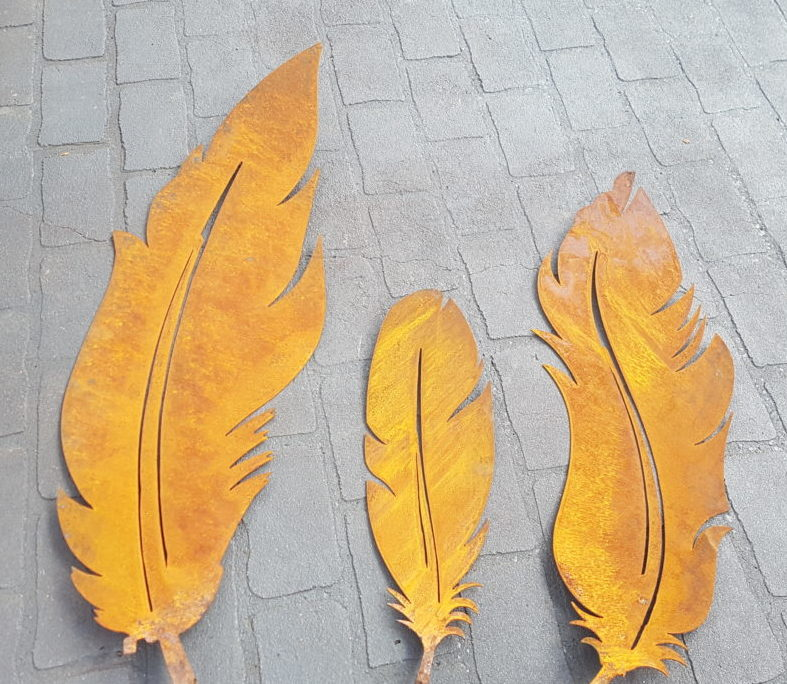 3 x Feathers set