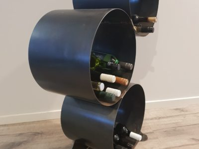 Wine Rack by Ironbark Metal Design