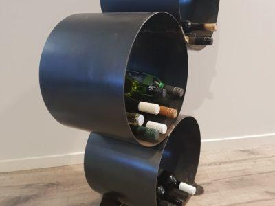 Wine Rack by Ironbark Metal Design