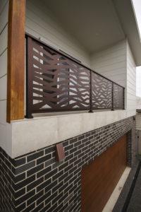 Ribbons Balustrade by Ironbark Metal Design