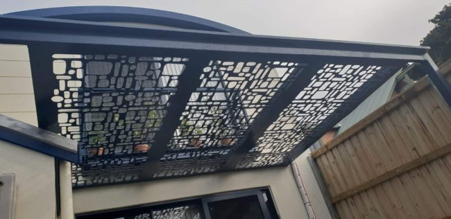 Pergola by Ironbark Metal Design
