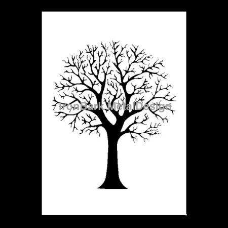 3D Autumn Tree