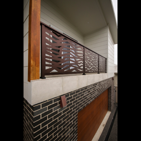 Balustrade with Ribbons Pattern