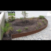 Corten Steel Garden Edging 200mm High