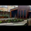 Corten Steel Garden Edging & Planters with Lace Leaf Sculpture- Gerroa