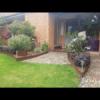 Corten Steel Garden Edging with Planter Box- Wollongong