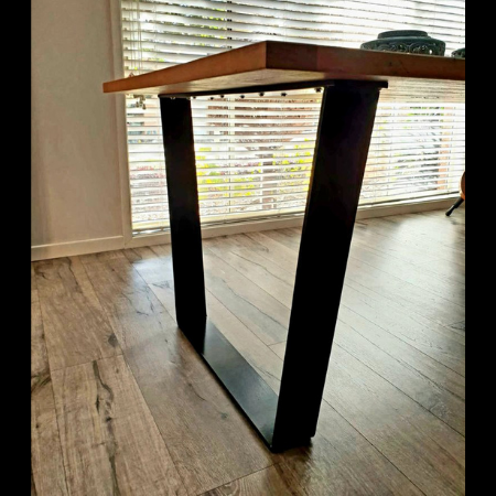 Custom Table Legs in Powder Coated Aluminium