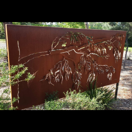 3D Ironbark Branch Decorative Screens