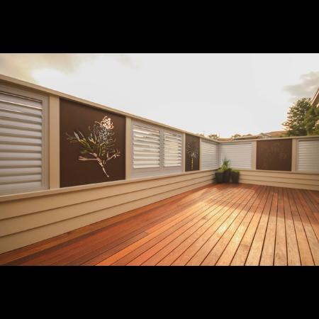3D Tree & Grevillea Privacy Screens