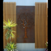 3D Tree Decorative Screens in Steel
