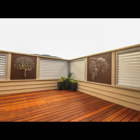 3D Tree & Wattle Privacy Screens