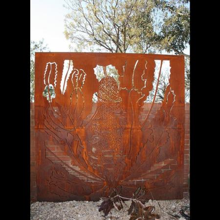 Banksia Pattern Decorative Screen Australian Botanic Gardens