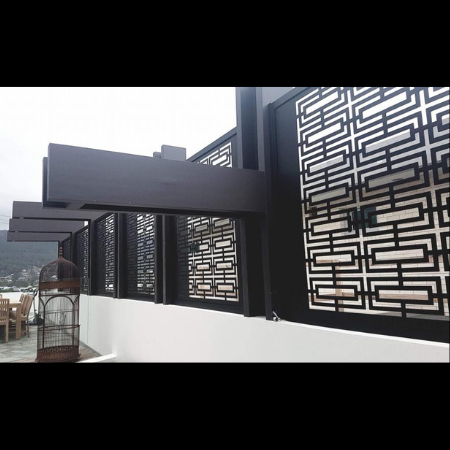 Chinatown Decorative Screen
