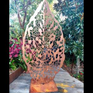 Fall Leaf Sculpture