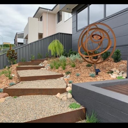 Large Eccentric Sculpture & Garden Edging