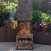 Chiminea with Banksia Pattern