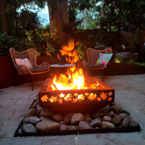 Small Prism Fire Pit