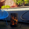 Small Round Fire Pit with Matchstick Banksia pattern