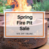 Spring Fire Pit Sale